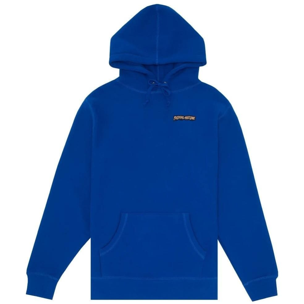 Fucking Awesome Little Stamp Hoodie - Royal   Hoodie by Fucking Awesome 1