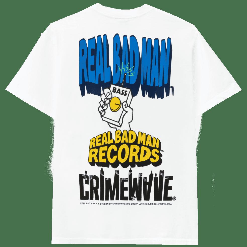 Real Bad Man The Big Three T-Shirt - White | T-Shirt by Real Bad Man 1