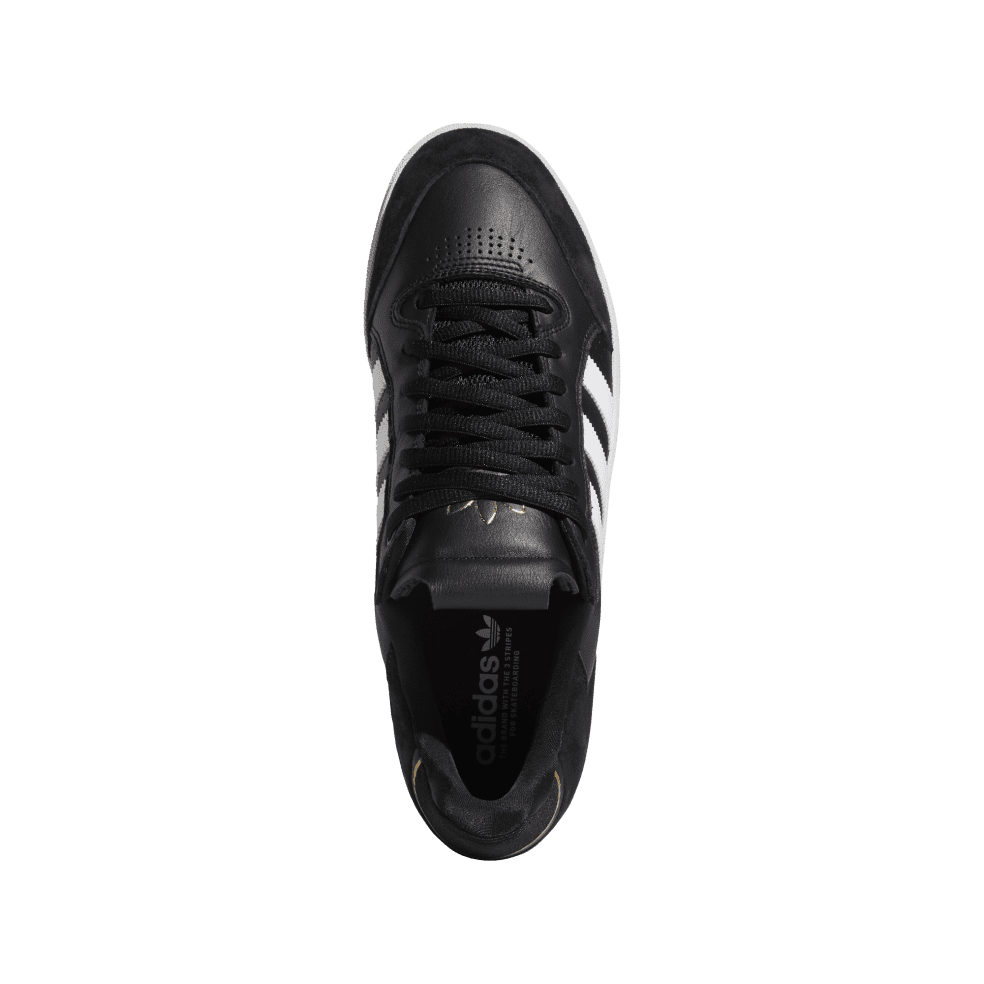 adidas Skateboarding Tyshawn Low Shoes - Core Black / Ftwr White / Gold Met | Shoes by adidas Skateboarding 2