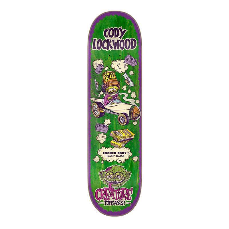 "Creature Lockwood Freaks 8.25"" Deck   Deck by Creature Skateboards 1"