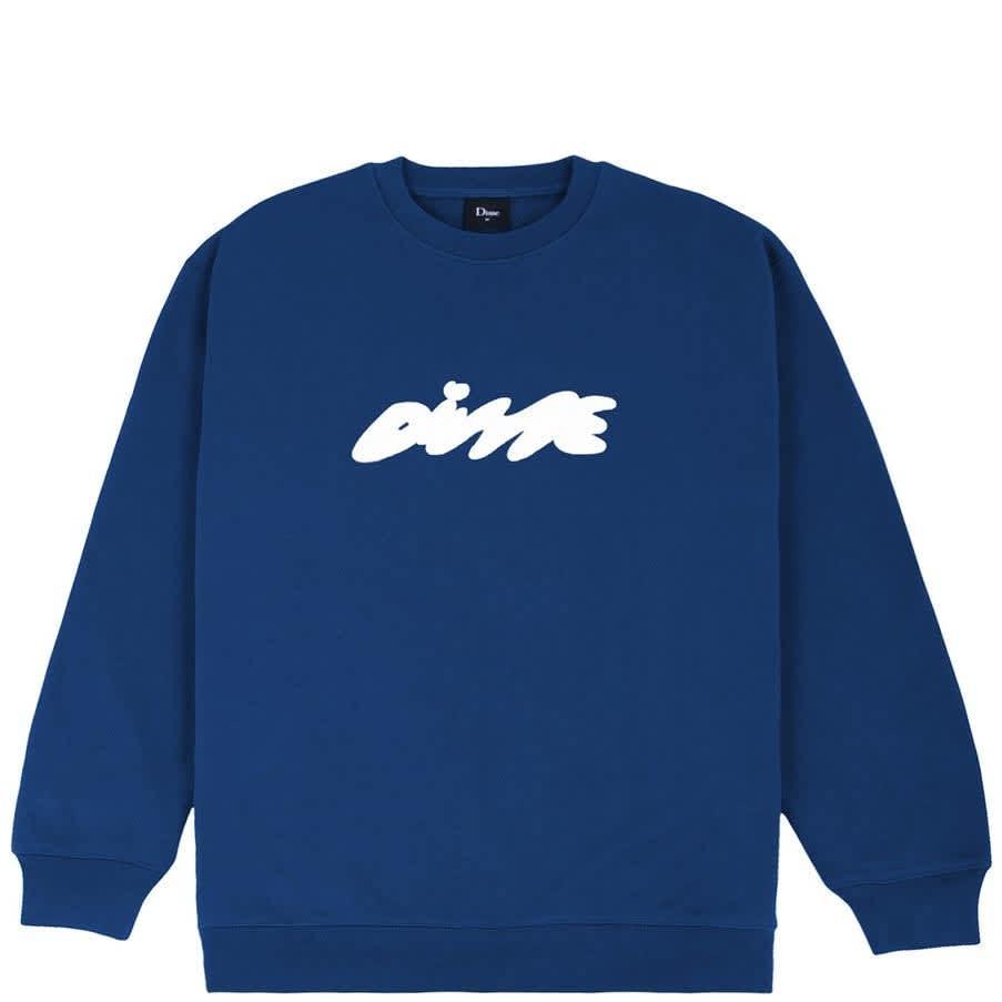 Dime Bubbly Crewneck - Navy   Sweatshirt by Dime 1