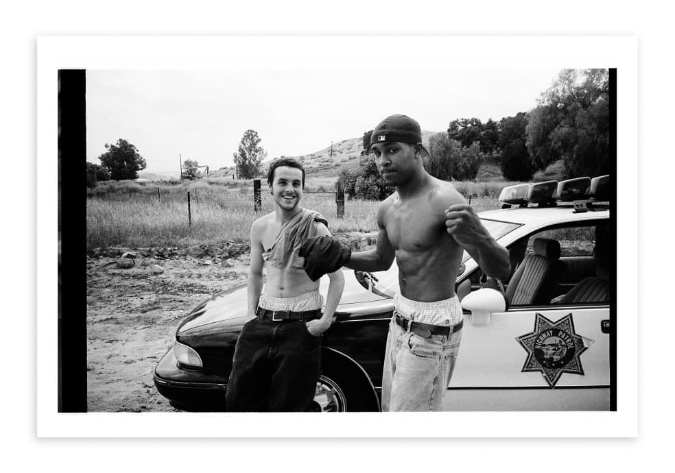Gino Iannucci and Keenan Milton, 1998   Photograph by Mike Blabac 1