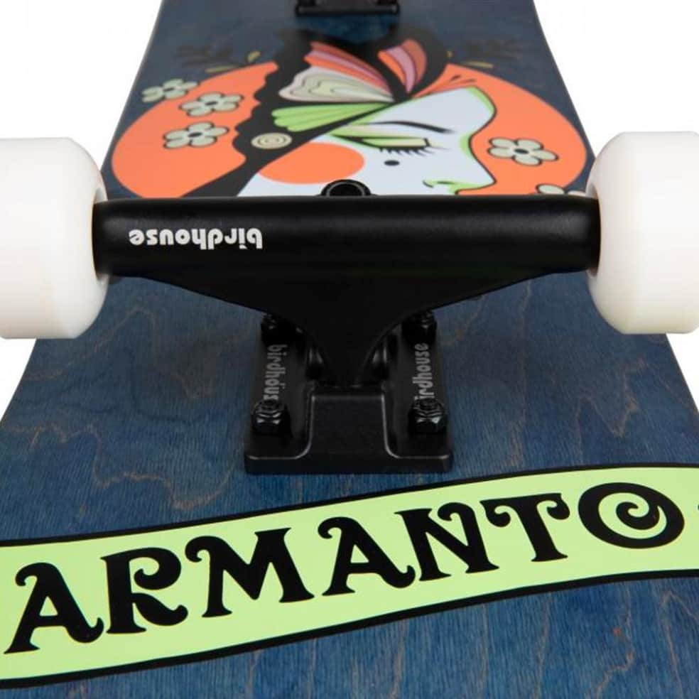 """Birdhouse - Lizzie Armanto Butterfly Complete Skateboard 8"""" Wide   Complete Skateboard by Birdhouse 2"""