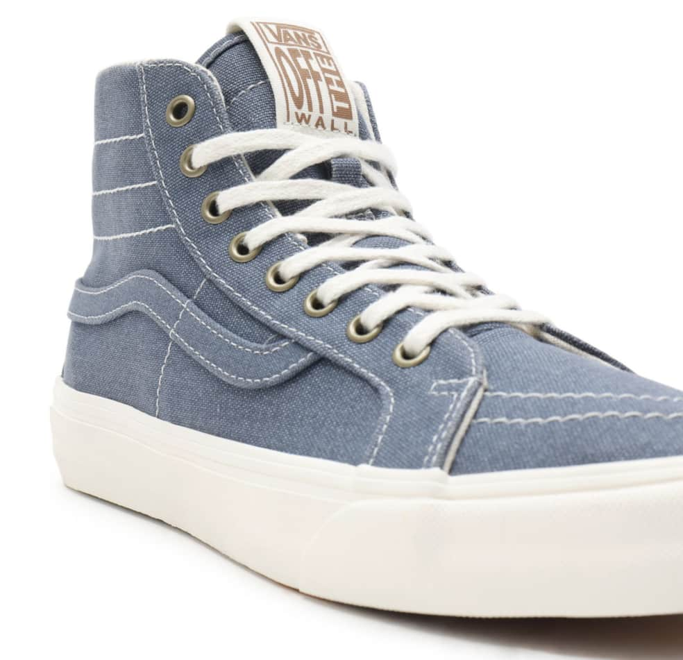 Vans Eco Theory Sk8-Hi 38 Decon SF Shoes - Cement Blue / Marshmallow | Shoes by Vans 2