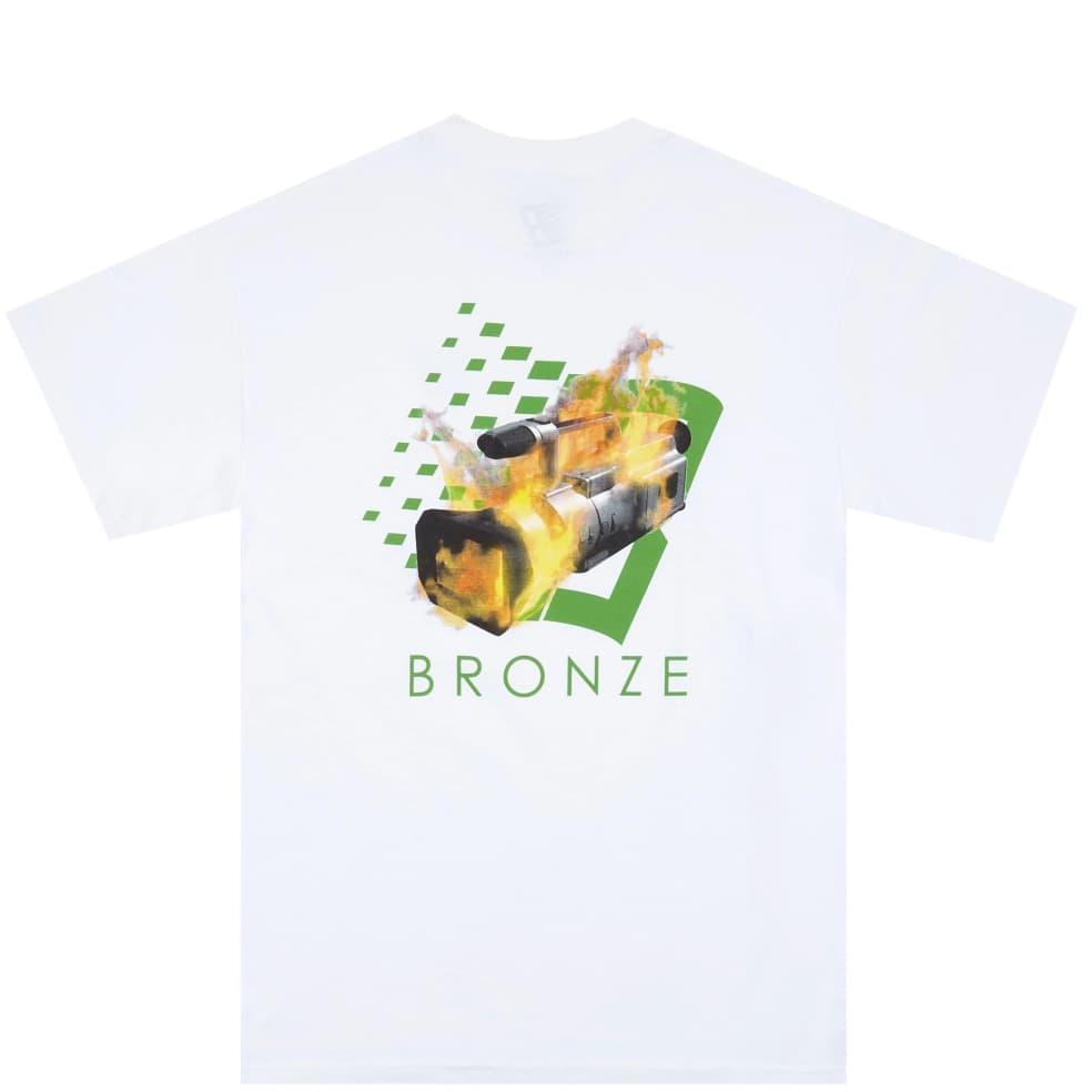 Bronze 56k VX B Logo T-Shirt - White | T-Shirt by Bronze 56k 1