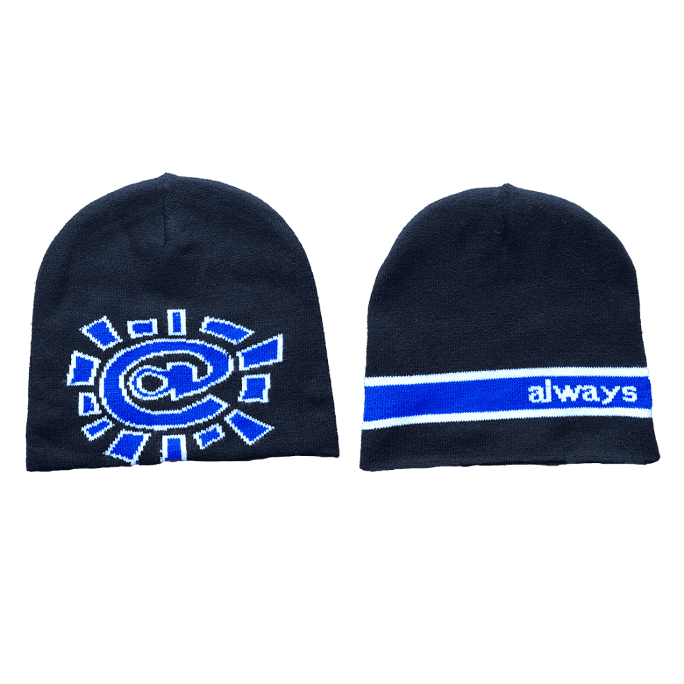 always do what you should do - reversible no cuff beanie | Beanie by always do what you should do 1