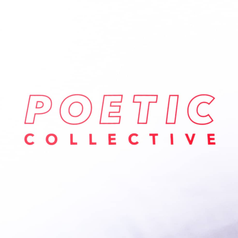 Poetic Collective Sports T Shirt White   T-Shirt by Poetic Collective 2