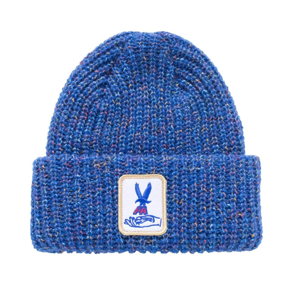 Fucking Awesome Beanie Hawk Speckle Blue   Beanie by Fucking Awesome 1