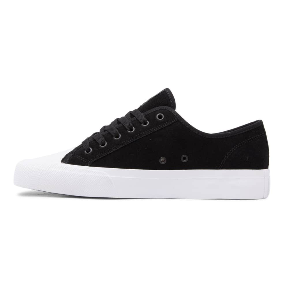 DC Manual RT S Skate Shoe - Black / White | Shoes by DC Shoes 3