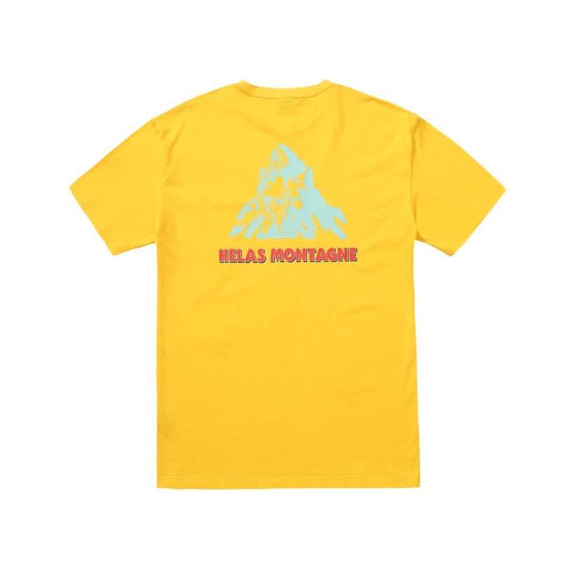 Hélas Montagne T-Shirt - Yellow | T-Shirt by Hélas 1