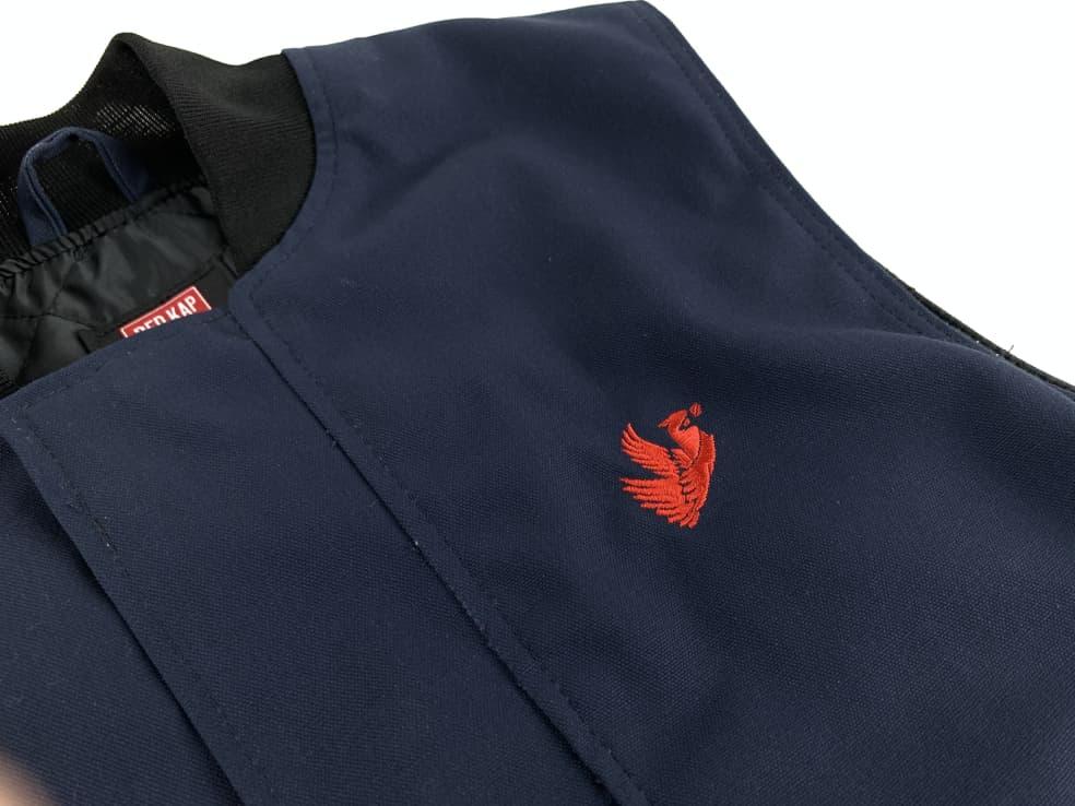 Oversized Fit Embroidered Cardinal Heavy Duty Work Vest   Vest by Cardinal 1