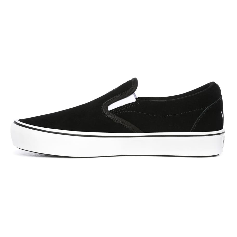 Vans Sixty Sixers Comfycush Slip On Shoes - Black / True White | Shoes by Vans 3