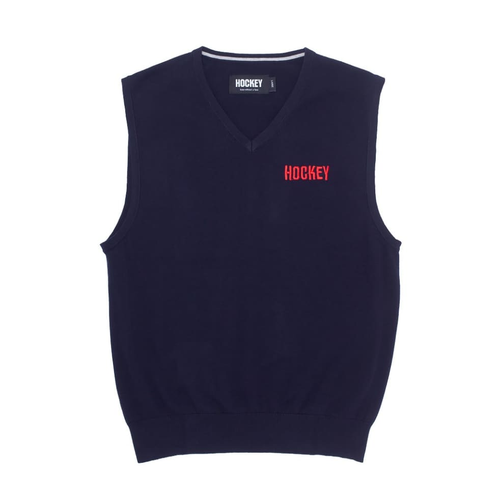 Hockey Sweater Vest - Navy | Vest by Hockey Skateboards 1