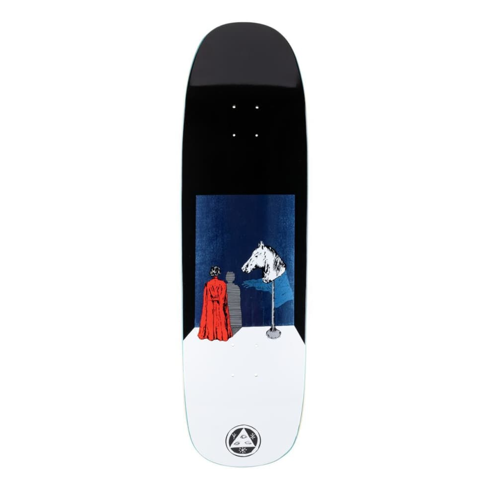 """Welcome on Golem Haunted Horse Deck 9.25"""" (Black/White)   Deck by Welcome Skateboards 1"""