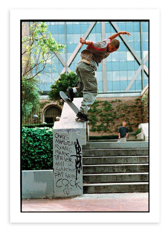 Eric Koston, San Francisco. 1998 | Photograph by Mike Blabac 1