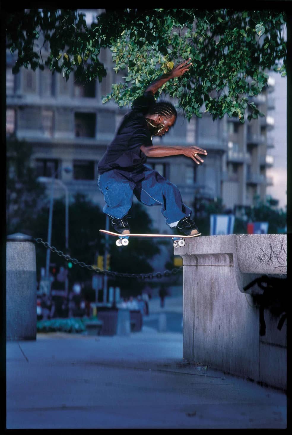 Stevie Williams, Love Park. 2000. | Photograph by Mike Blabac 2
