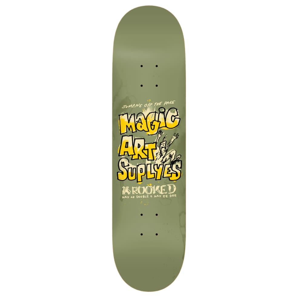 """Krooked - 8.75"""" Magic Art Supplyes 