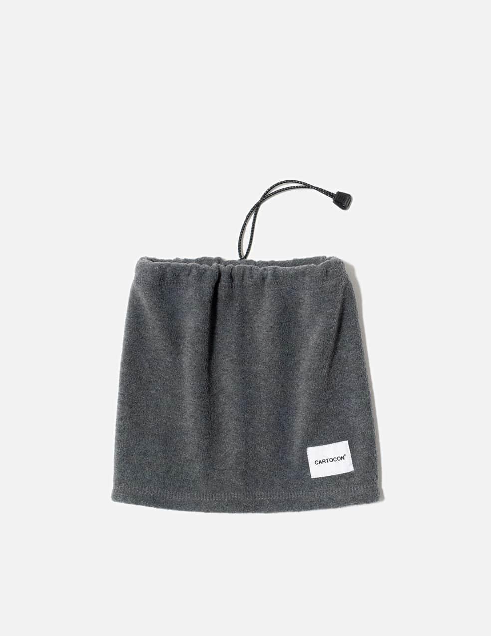 Cartocon Fleece Neckwarmer - Grey | Scarf by Cartocon 1
