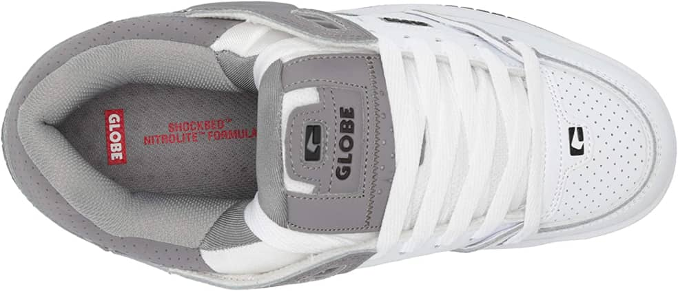 Fusion Grey White | Shoes by Globe 3