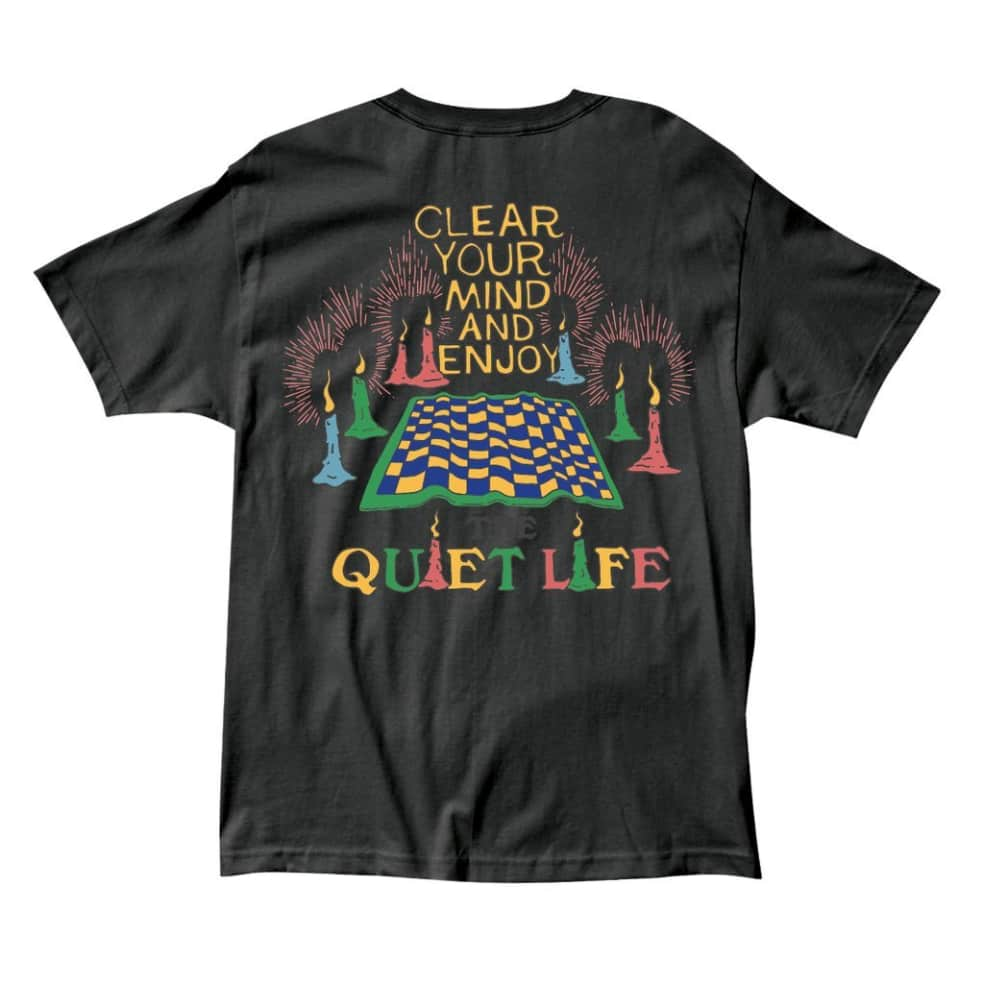 The Quiet Life - Clear Your Mind T - Black | T-Shirt by The Quiet Life 1