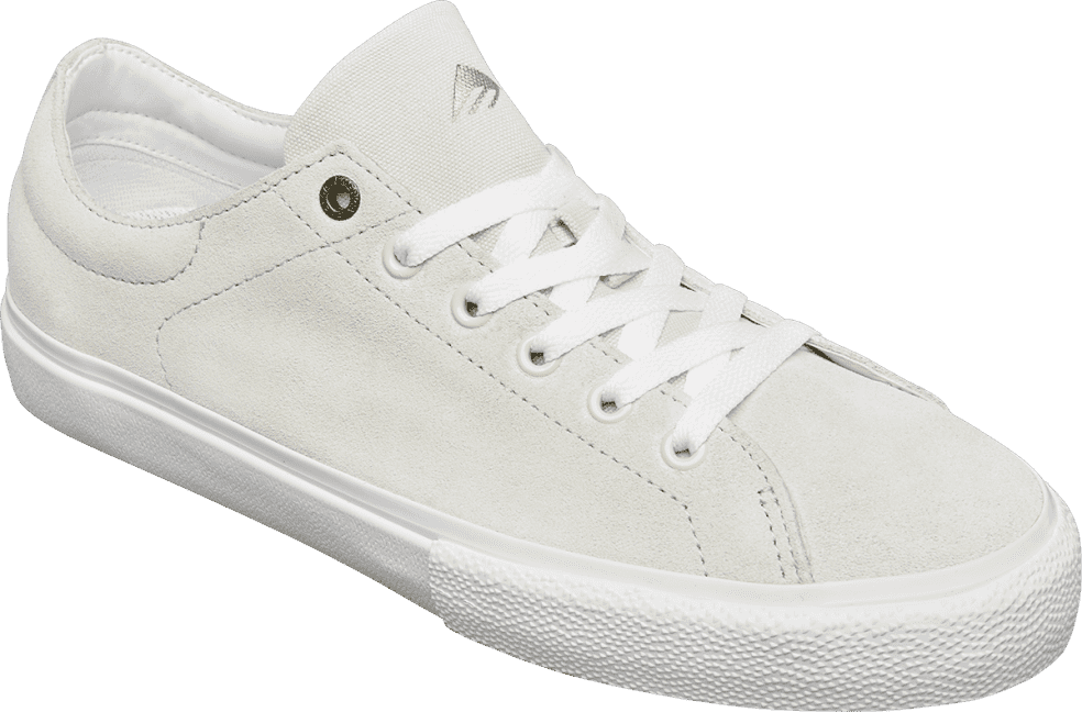 Emerica Omen Lo Skate Shoes - White | Shoes by Emerica 2