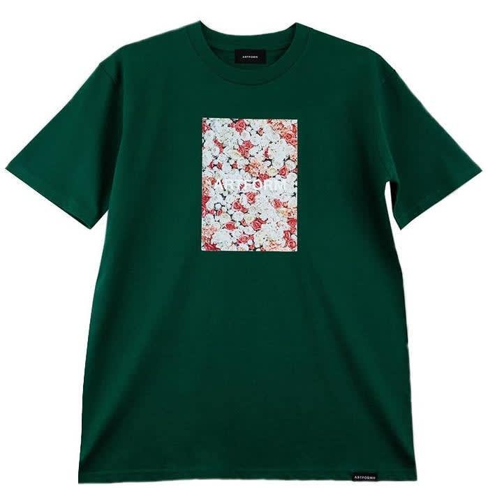 Artform Rose Garden T-Shirt - Emerald   T-Shirt by Artform 1