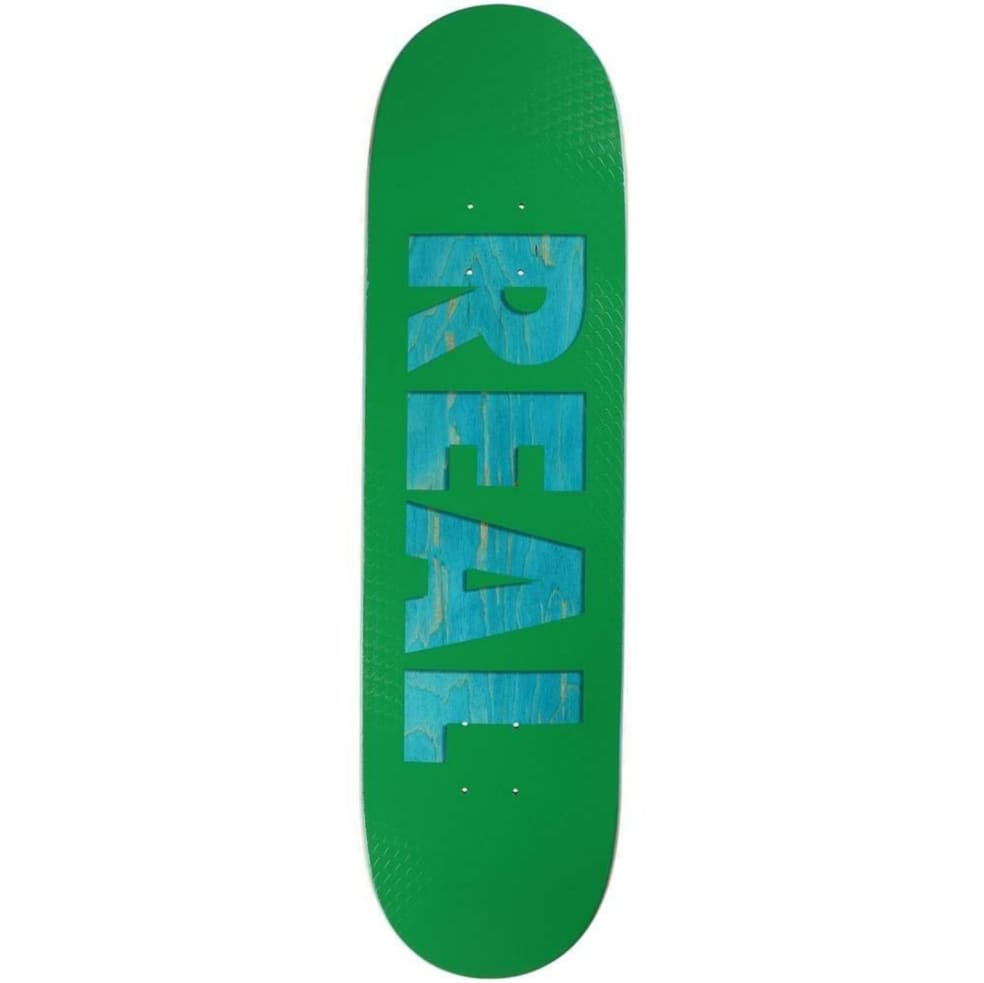 """Real Skateboards Bold Series 8.38"""" Deck   Deck by Real Skateboards 1"""