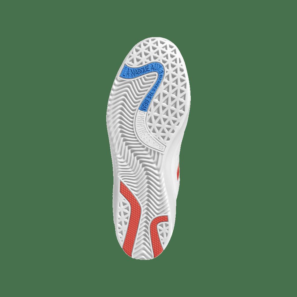 adidas Skateboarding Puig Shoes - Ftwr White / Bluebird / Vivid Red   Shoes by adidas Skateboarding 3