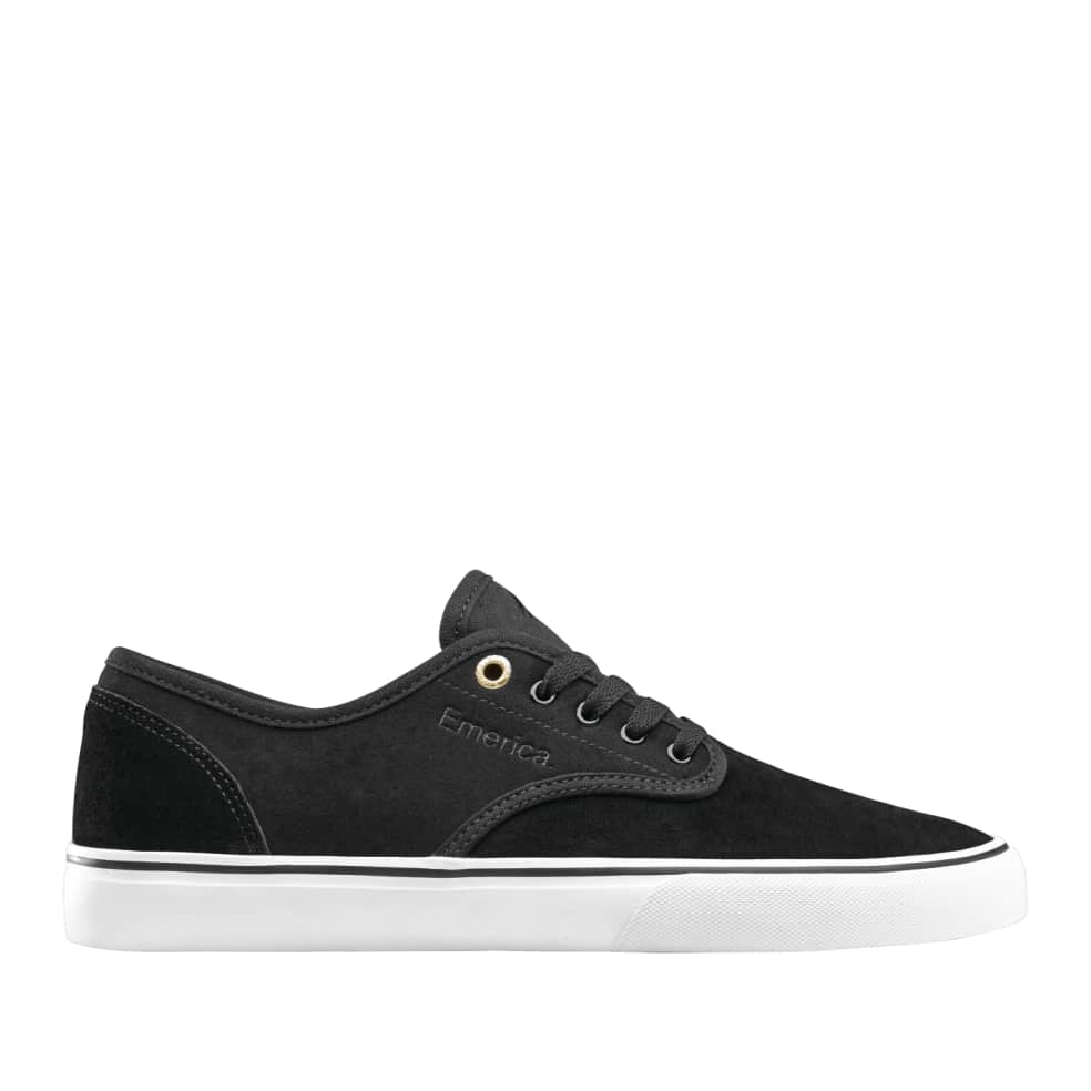 Emerica Wino Standard Skate Shoes - White / Black / Gold   Shoes by Emerica 1