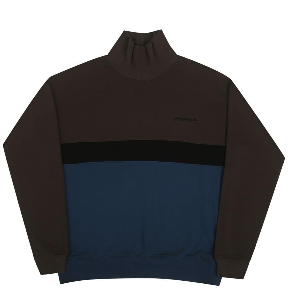 Yardsale Menace Rollneck - Black / Indigo   Sweatshirt by Yardsale 1