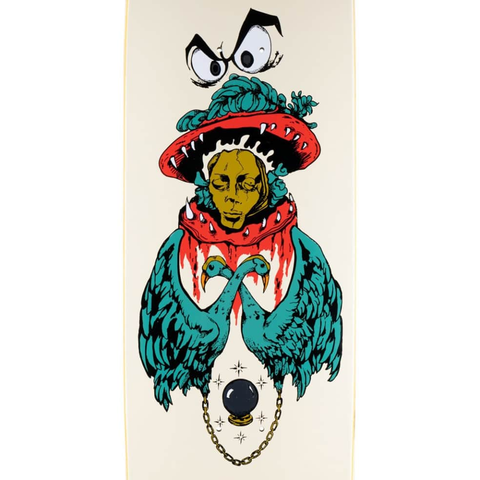 Victim of Time on Baculus 2 - Bone - 9 | Deck by Welcome Skateboards 2
