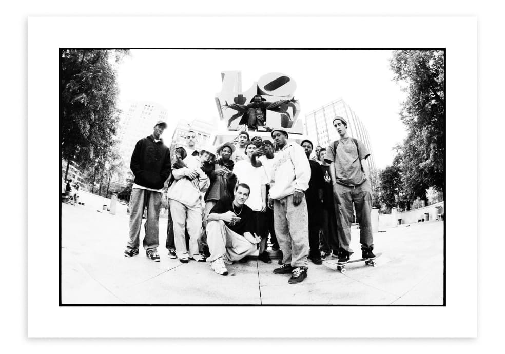 Love Park Crew, 1999   Photograph by Mike Blabac 1