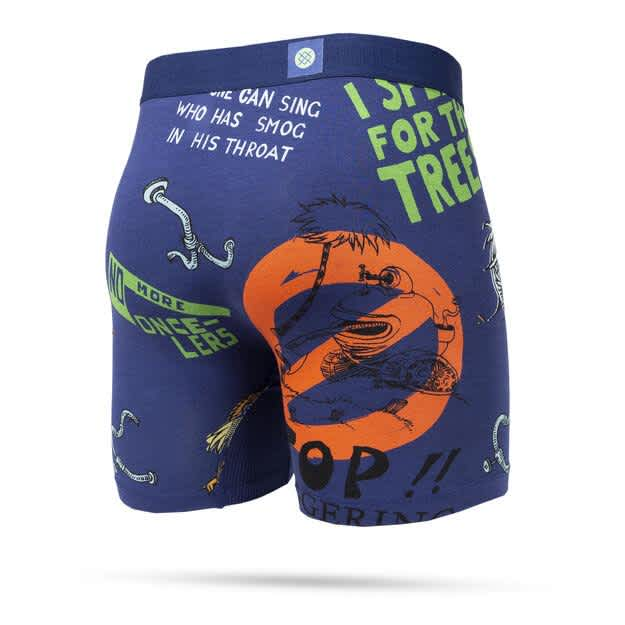 Stance I Speak For The Trees Wholester Boxer Brief | Underwear by Stance Socks 2