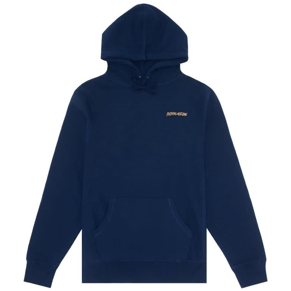 Fucking Awesome Little Stamp Hoodie - Navy | Hoodie by Fucking Awesome 1