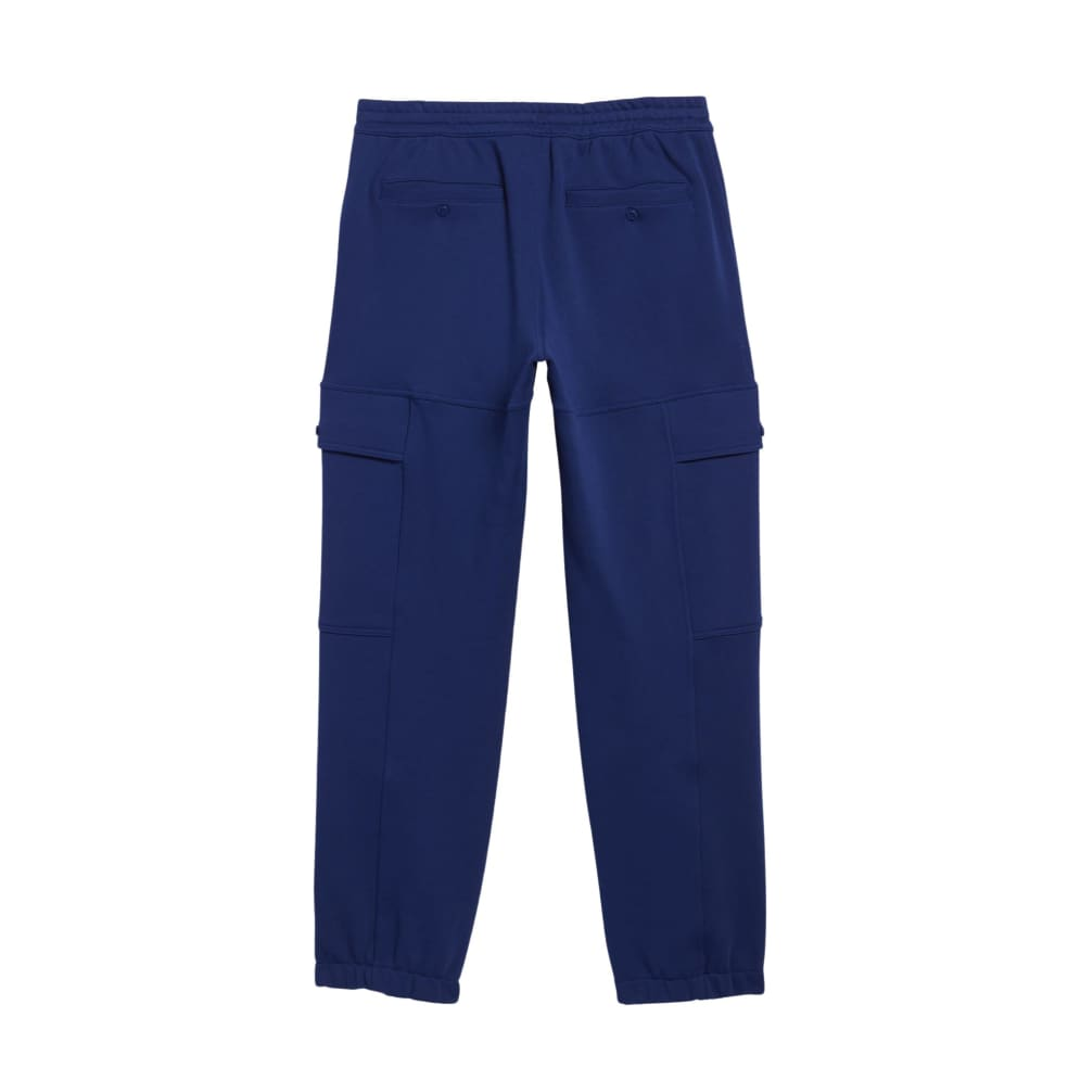 adidas Heavyweight Shmoofoil Utility Joggers - Victory Blue / White | Trousers by adidas Skateboarding 2