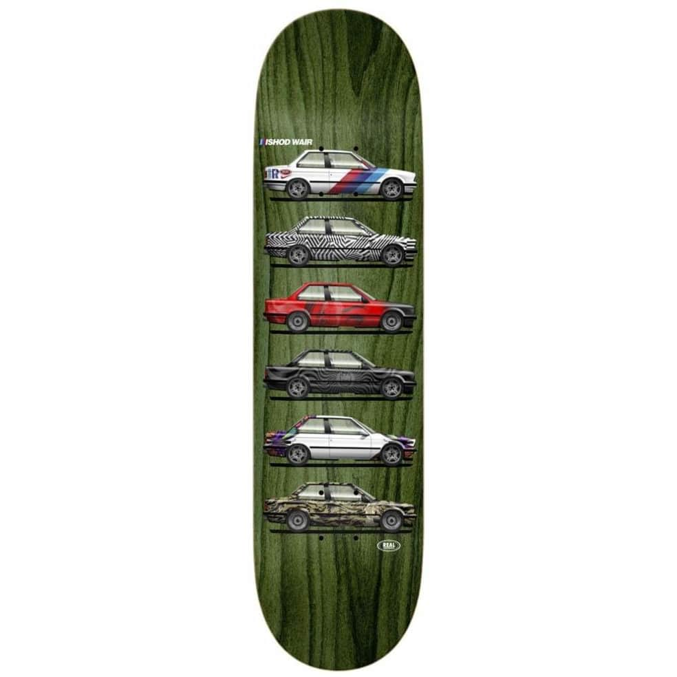 """Real Ishod Customs Twin Tail Skateboard Deck - 8.25"""" 