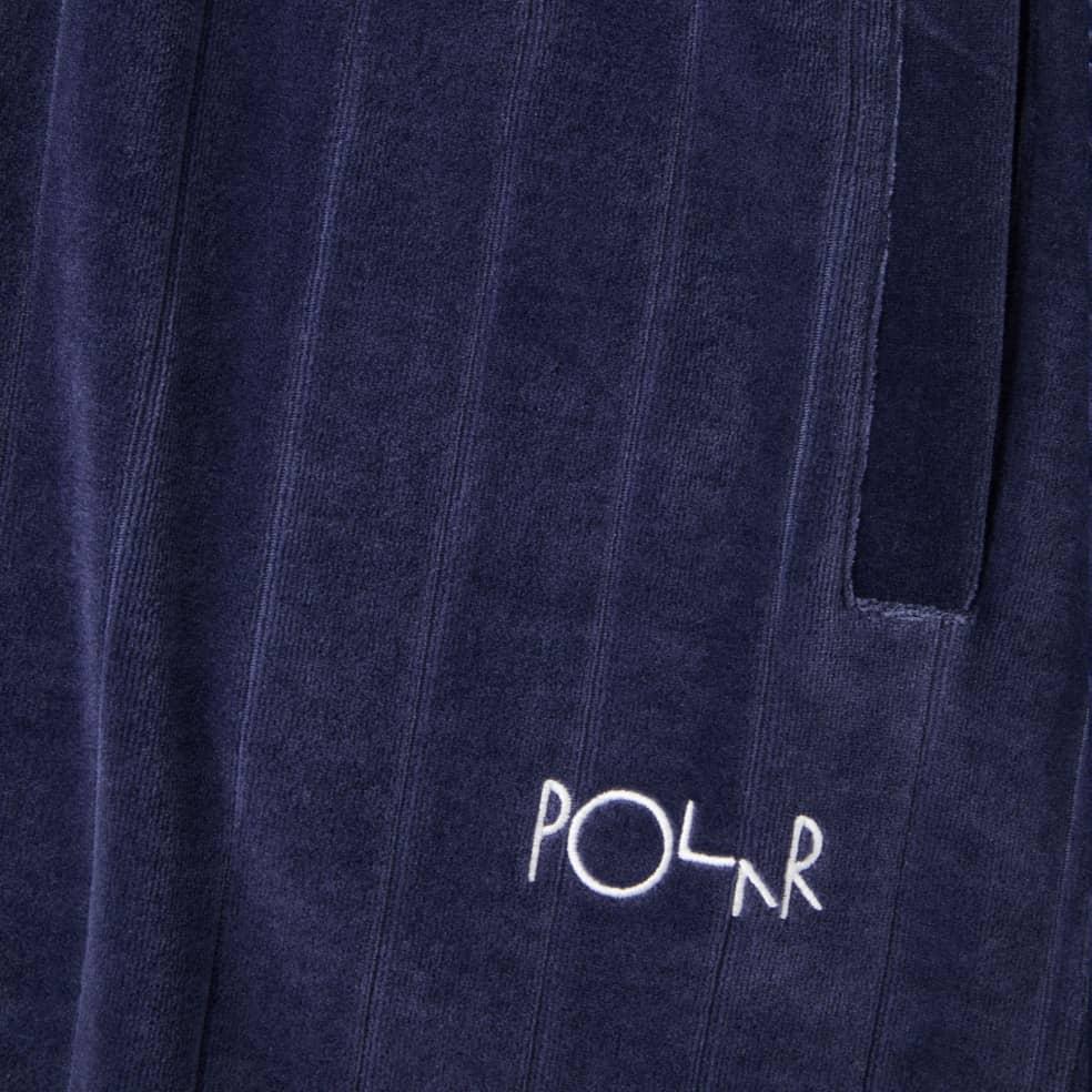Polar Skate Co Velour Sweatpants - Rich Navy   Sweatpants by Polar Skate Co 3
