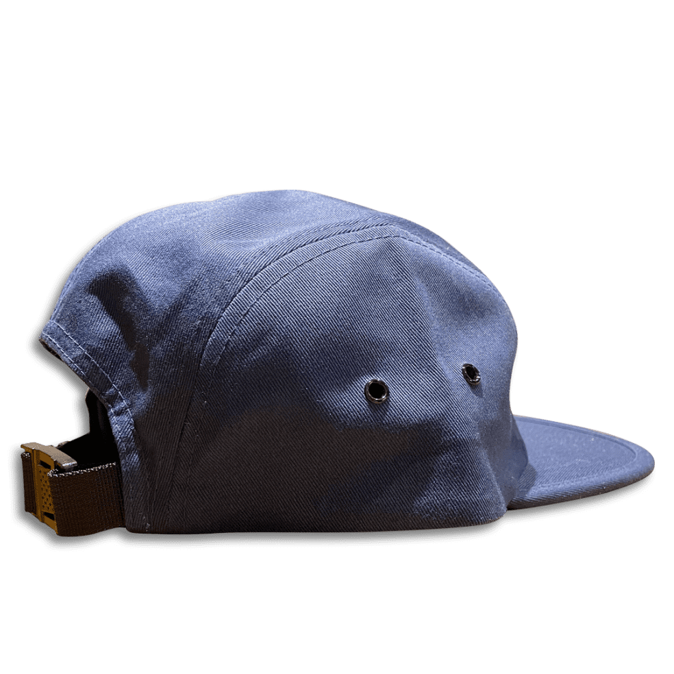 No-Comply Locally Grown 5-Panel Volley Hat - Navy | Baseball Cap by No Comply 2