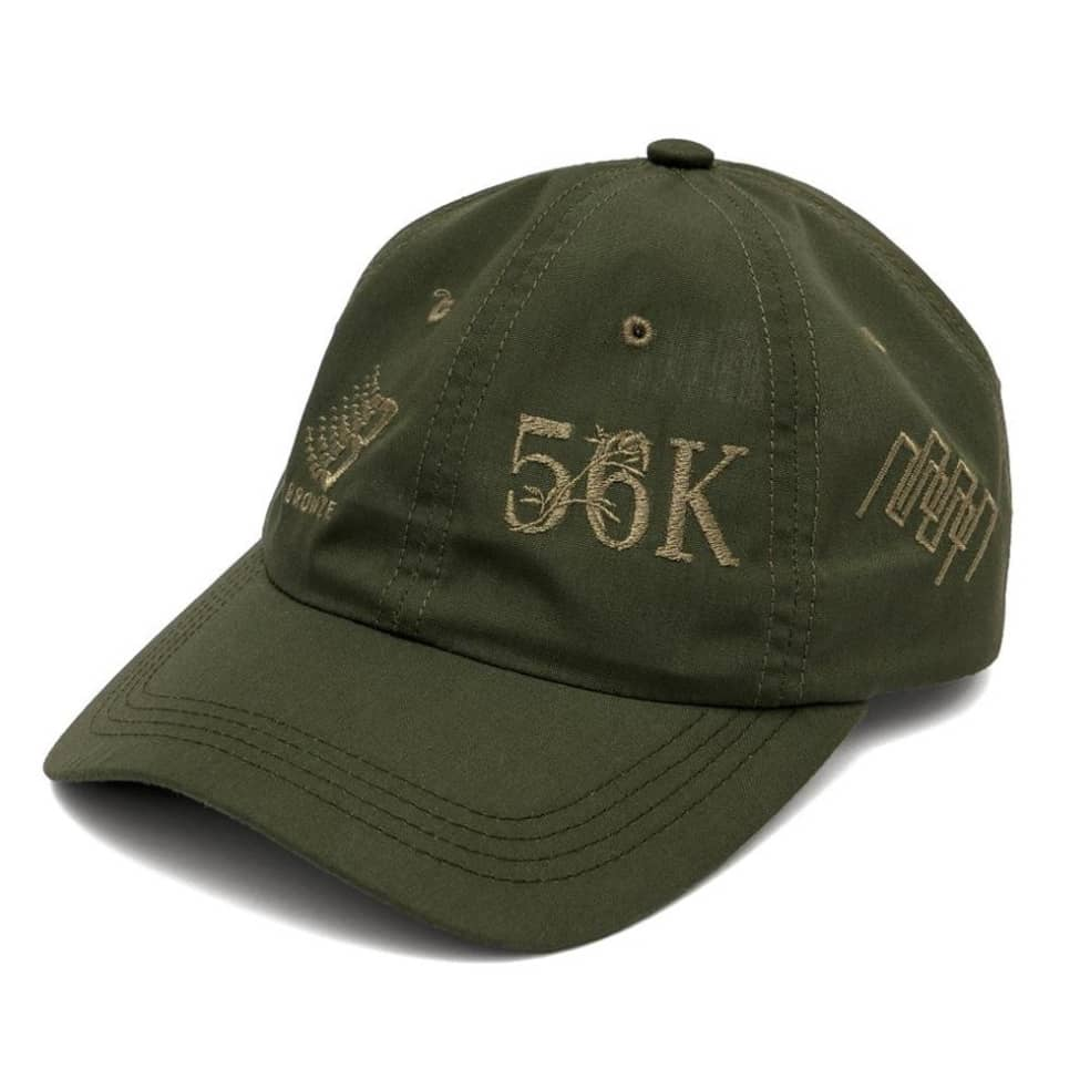 Bronze 56k Anniversary Cap - Olive   Baseball Cap by Bronze 56k 1