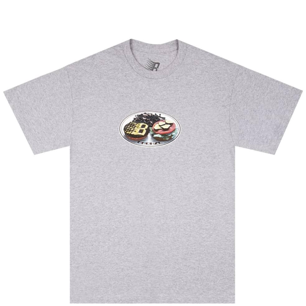 Bronze 56k Plate T-Shirt - Heather Grey   T-Shirt by Bronze 56k 1
