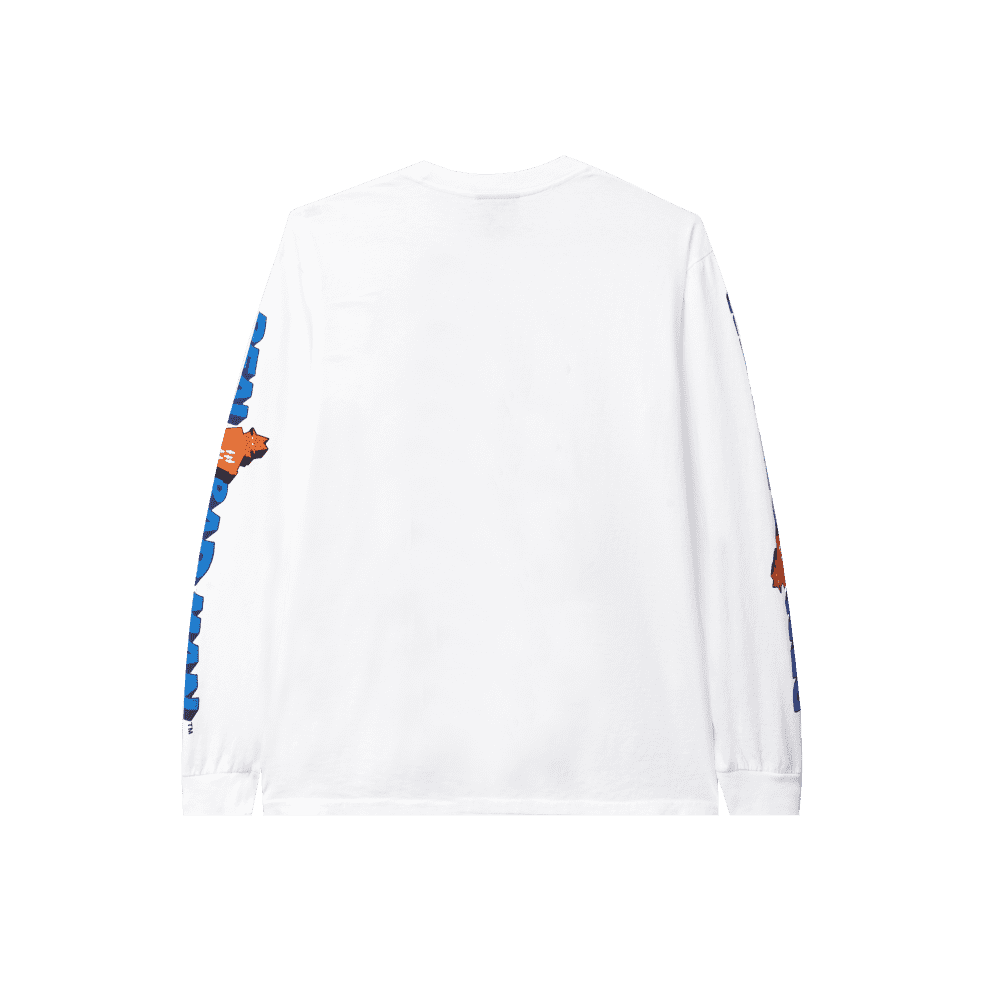 Real Bad Man Graphic Content Long Sleeve T-Shirt - White | Longsleeve by Real Bad Man 2