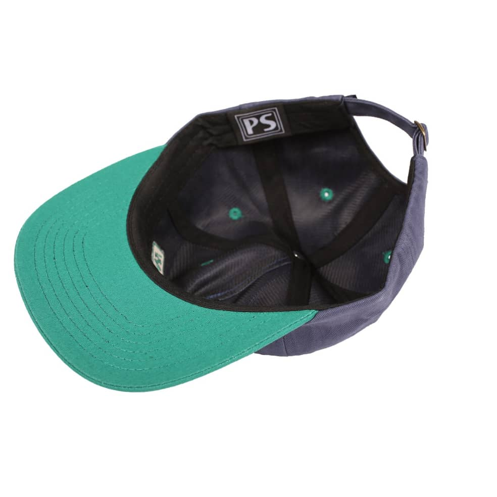 Picture Show VHS Strapback Hat Slate/Jade | Baseball Cap by Picture Show Studios 2