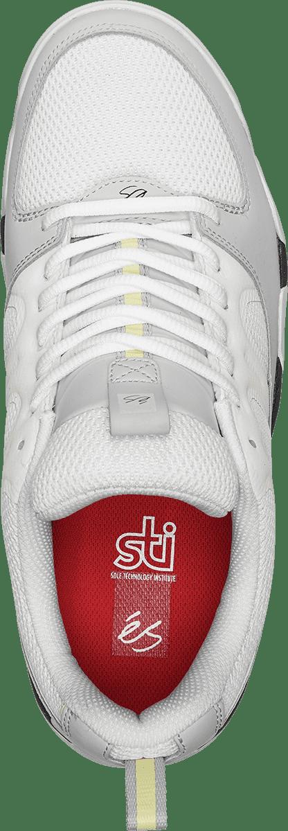éS Silo Skate Shoes - Grey / Green | Shoes by éS Shoes 3