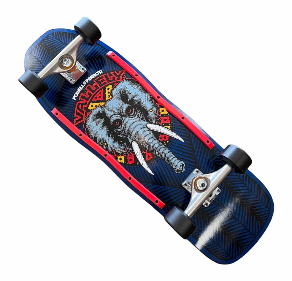 Powell Peralta Complete Mike Vallely Elephant Navy 10x30.1 | Complete Skateboard by Powell Peralta 1