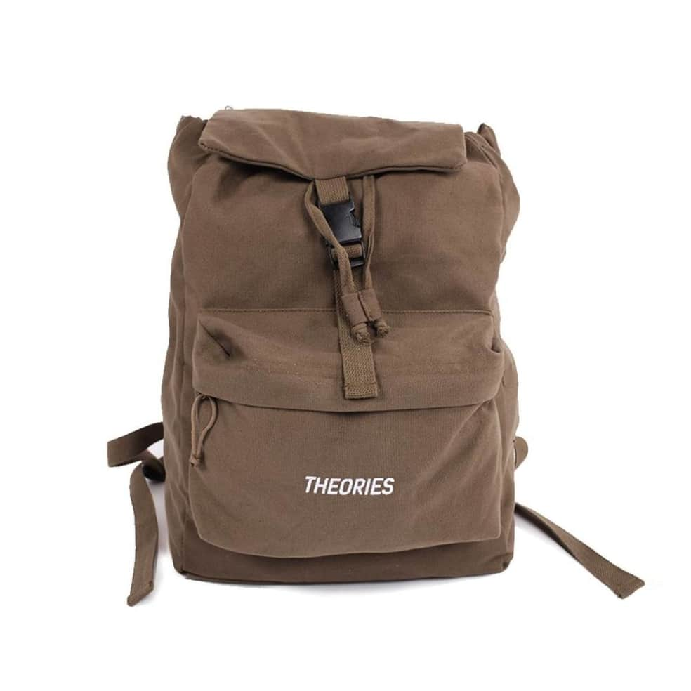 Theories Stamp Camper Backpack Olive   Backpack by Theories of Atlantis 1