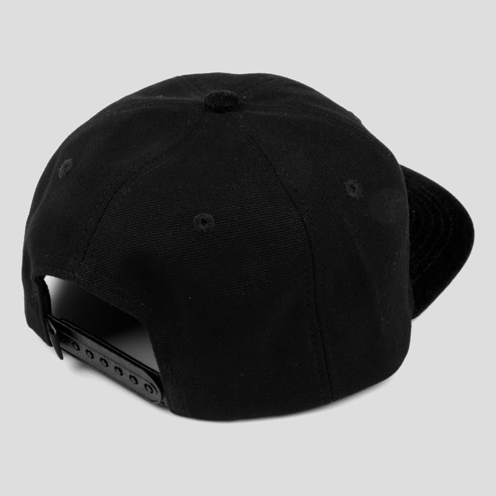 "PASS~PORT ""INTER SOLID PATCH"" CAP BLACK | Baseball Cap by Pass~Port Skateboards 2"