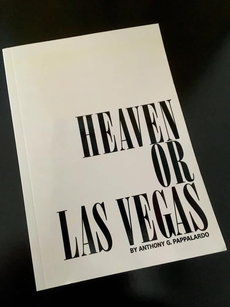 Heaven or Las Vegas Book by Anthony Pappalardo | Book by Adult Inc 1