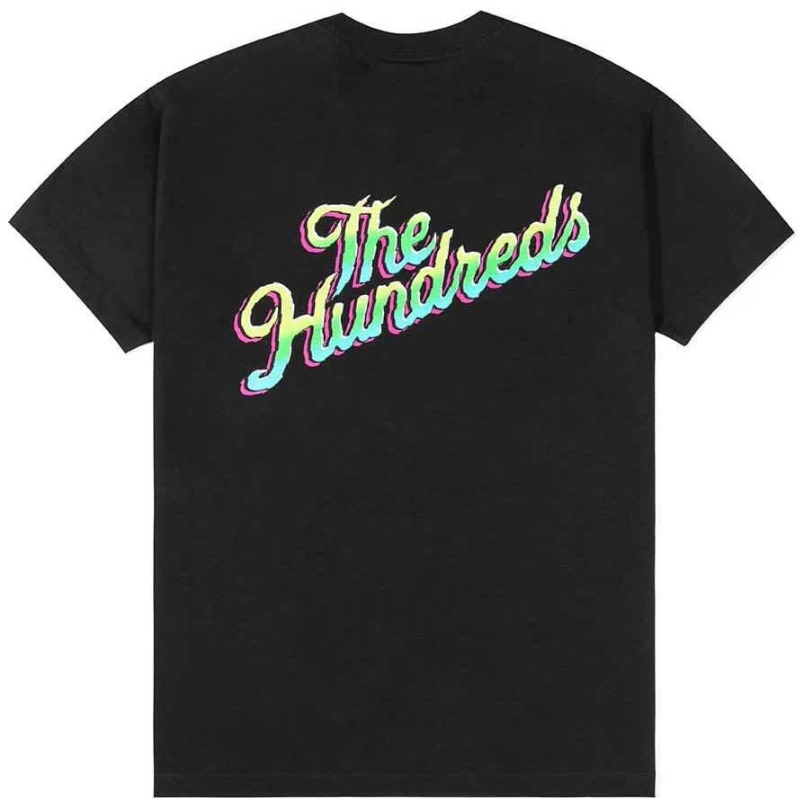 The Hundreds Wild Slant T-Shirt - Black   T-Shirt by The Hundreds 1