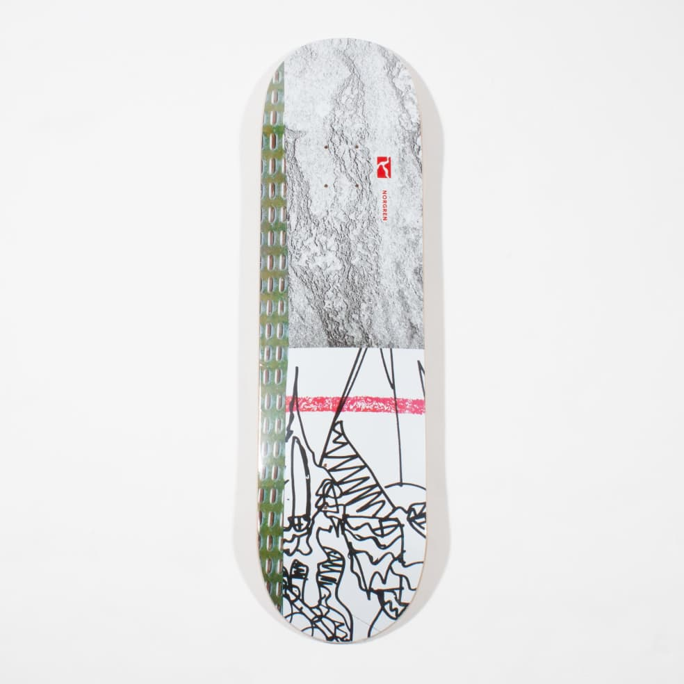 Poetic Collective Norgren Skateboard Deck - 8.00   Deck by Poetic Collective 1