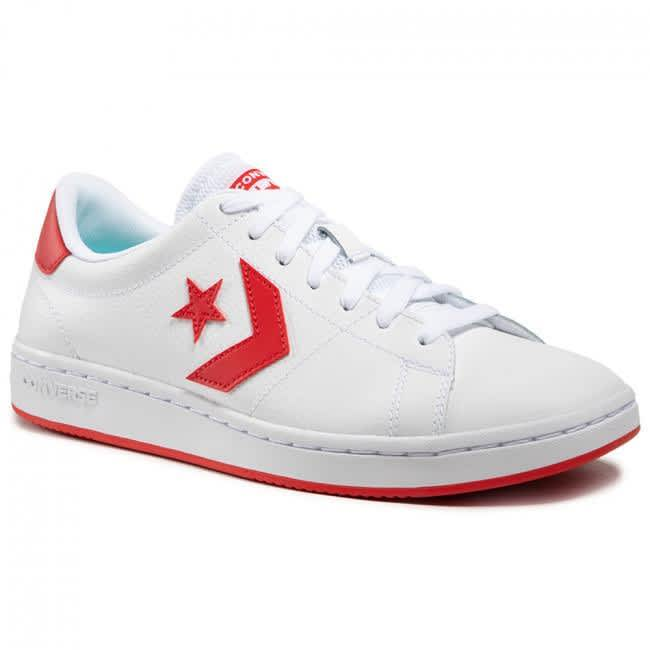 Converse All-Court Ox - White / University Red | Shoes by Converse Cons 2